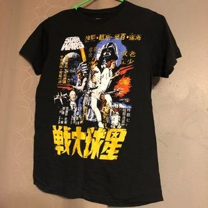 Star Wars Chinese lettering T